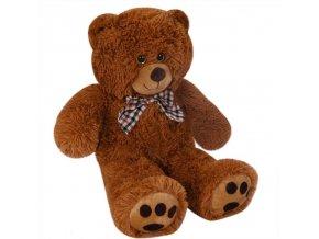 818 2 heboucky plysovy medved 50 cm hnedy