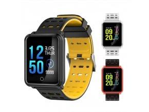 Chytré hodinky voděodolné N8 (Barva Bílá)