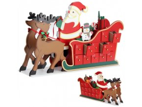 761 adventni kalendar santa claus