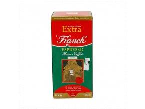 Franck Extra systém je jednoduchý způsob, jak si připravit kvalitní Espresso v několika krocích. Příprava Espressa ze samostatně balených 7g porcí kvalitní kávy Franck je velmi rychlá a výsledek Vás určitě nadchne.