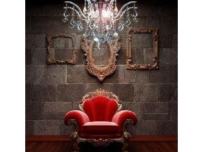 4341 kristalovy zavesny lustr orseo dessy 60 cm
