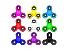 Antistresová hračka spinner (Barva Černá)