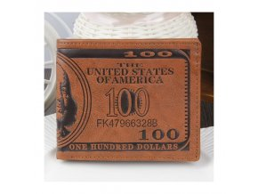 1595 luxusni panska kozena penezenka 100 dolars