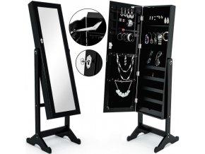 4926 6 luxusni stojanova sperkovnice se zrcadlem