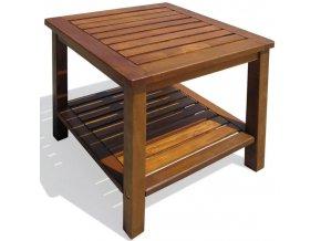 2648 1 odkladaci stolek dreveny stul