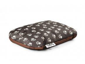 Pelíšek pro psy hnědý Bullibag DOG dogb_025 (Pelech 73 x 51 cm)