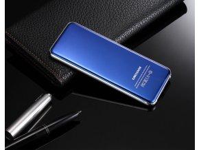 Ultra tenký stylový dotykový telefon (Barva Modrá)