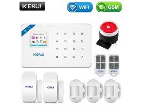 39216 bezdratovy alarm s wifi a detekci pohybu wg2