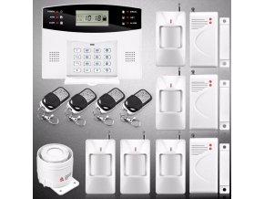 5172 bezdratovy bezpecnostni system s vysilacem gsm alarm