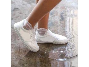 Recyklovatelné nepromokavé návleky na boty (Velikost L - Černá)