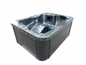 44471 venkovni viriva vana black marble plus schodiste a termalni kryti