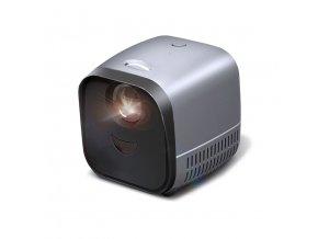 45299 prenosny projektor super mini l1 usb led