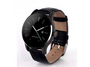 Smart Watch K88H (MaterialHodinek Černé s ocelovým černým páskem)