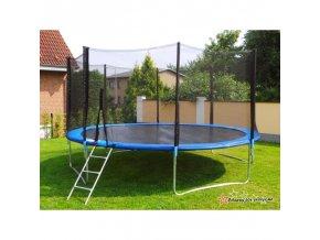 992 trampolina o 250cm s bezpecnostni siti a zebrikem 8ft