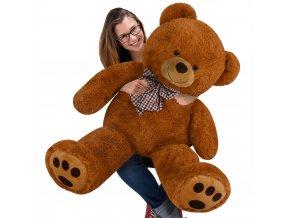 809 velky hnedy plysovy medved 100 cm xxl plysak
