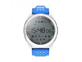 Voděodolné sportovní chytré hodinky No.1 F3 (Barva Bílá)