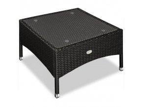 2942 zahradni stolek z umeleho ratanu