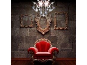 4338 1 zavesny kristalovy lustr orseo emely 40 cm