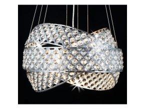 4326 2 zavesny kristalovy lustr orseo orbius 50cm