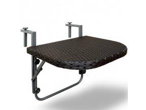 2741 4 zavesny stolek na balkon sklopny