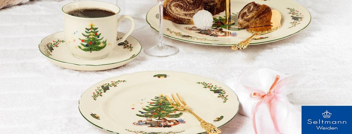 Vánoční porcelán Marie-Luise Weihnachten, Seltmann Weiden