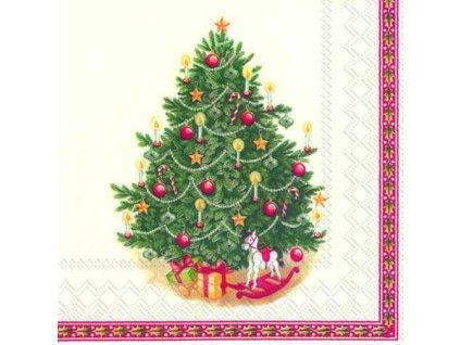 Vánoční papírové ubrousky