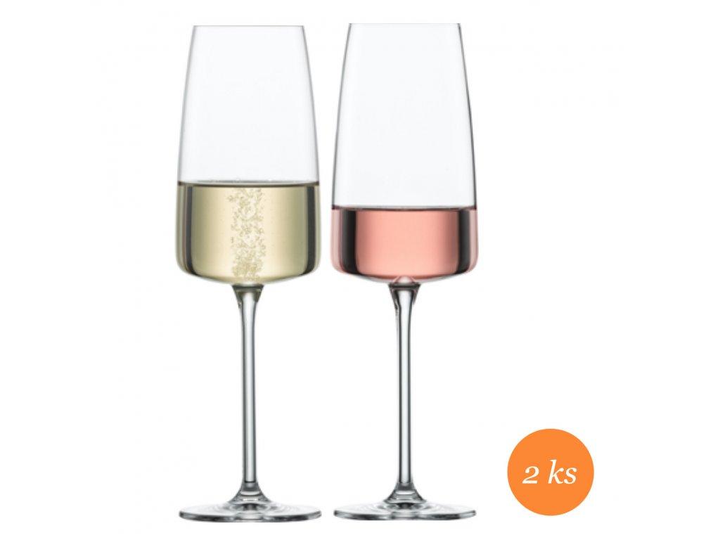 Schott Zwiesel Sensa lehké a svěží perlivé víno, 2 kusy