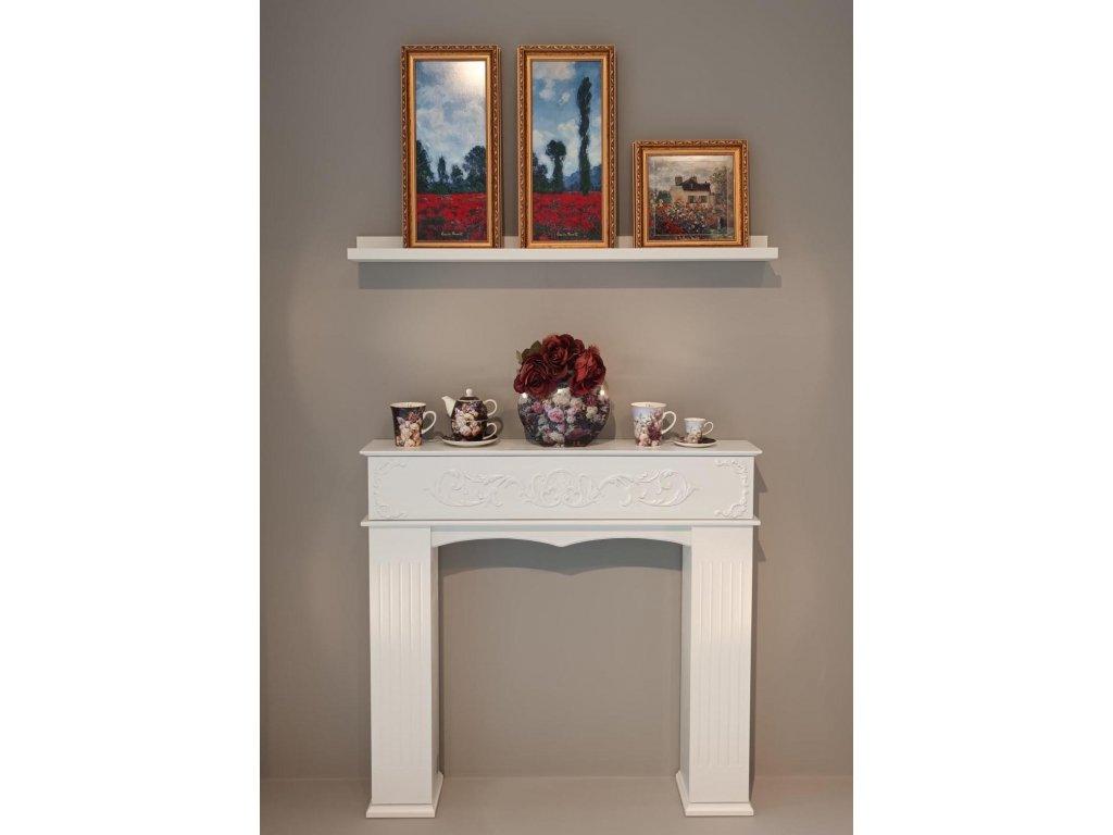 Goebel Monet Obraz Pole s vlčími máky II 57x27 cm