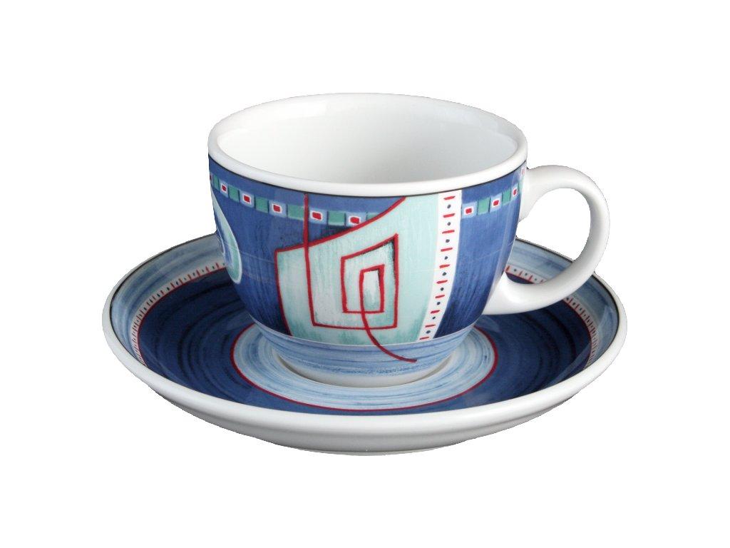 Seltmann Weiden Imperia Cappuccino šálek 0.22 ltr. a podšálek 14.7 cm