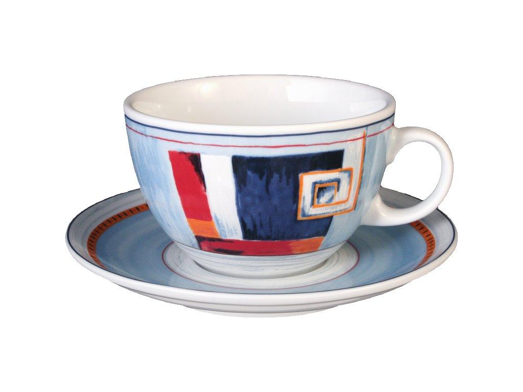 Seltmann Weiden Rapalo Šálek na bílou kávu 0.37 ltr. a podšálek 15.9 cm