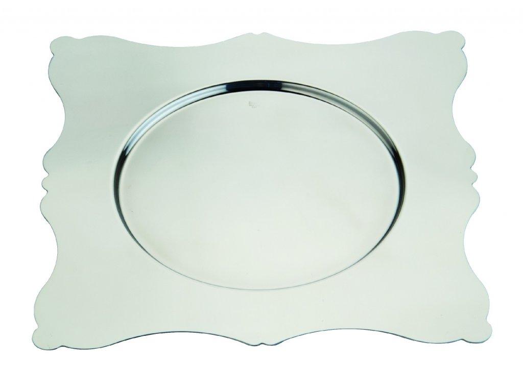 Mepra Dolce Vita Čtvercový podkladový talíř 32x32 cm