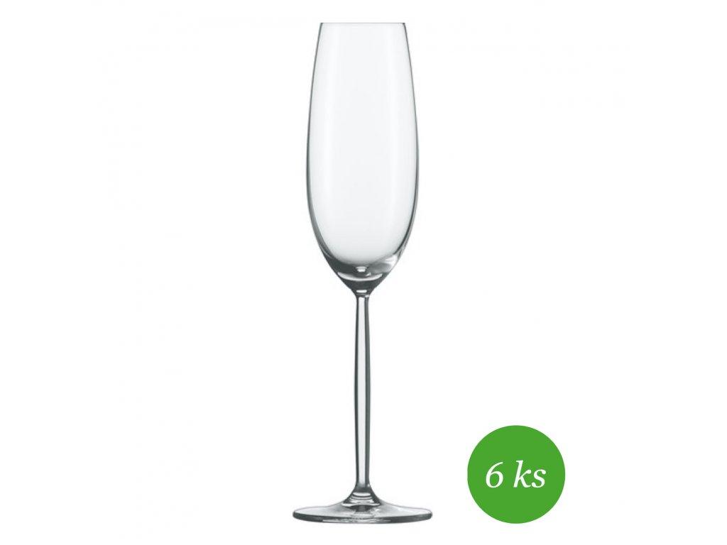 Schott Zwiesel Diva Sekt/Champagne, 6 kusů