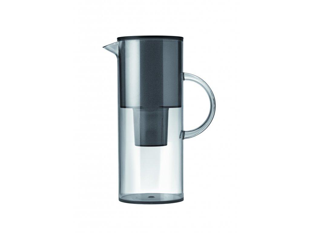 Stelton Konvice na vodu s filtrem 1.5 ltr. kouřová