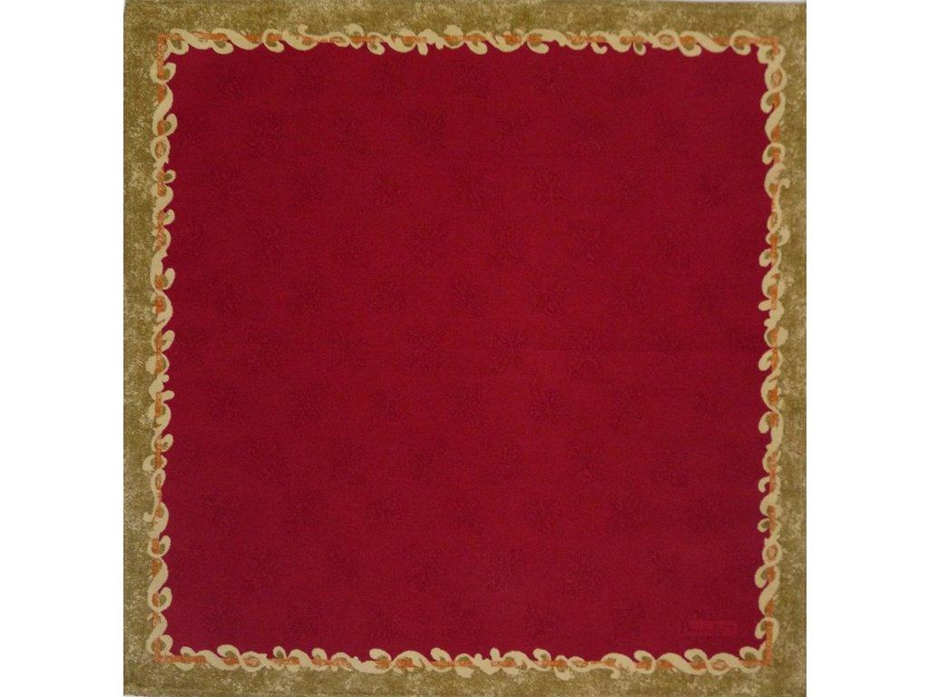 Beauvillé Ponte Vecchio červený ubrousek 52x52 cm