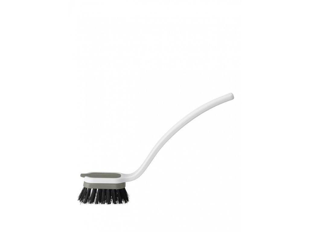 Rig-Tig SINK CADDY šedý kartáč na nádobí