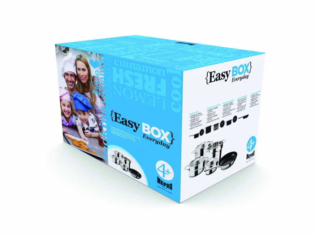 Mepra Easy Box Every Day, sada pro 4 osoby