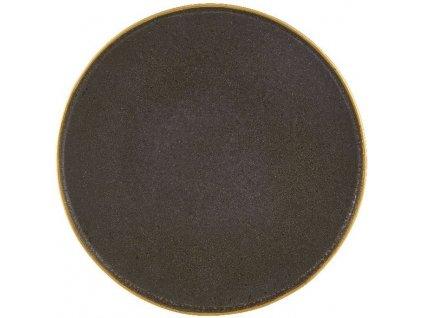 Casa Alegre Gold Stone Mělký talíř bronzový
