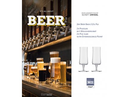 Schott Zwiesel Beer Basic pivo na stopce 0.3 ltr., 2 kusy