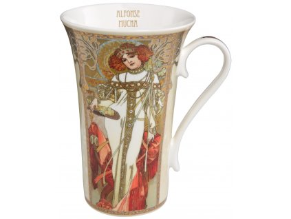 Goebel Hrnek Alfons Mucha Podzim/zima 1900