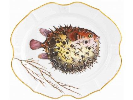 Vista Alegre DEEP SEA Baloonfish malý podnos