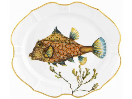Vista Alegre DEEP SEA Boxfish malý podnos