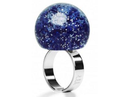 Ballsmania Modrý prsten GALAXY SATURNO