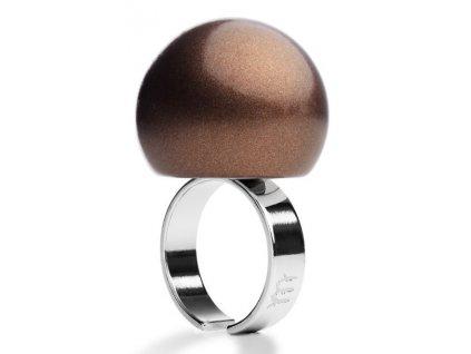 Ballsmania Bronzový metalický prsten BRONZO METAL