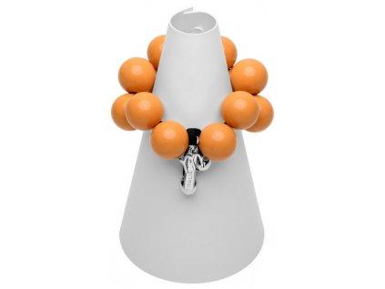 B116 #BallsMania by MirtaBijoux Arancione Fiamma 15 1157