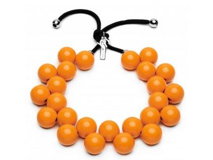 C206 #BallsMania by MirtaBijoux Arancione Fiamma 15 1157
