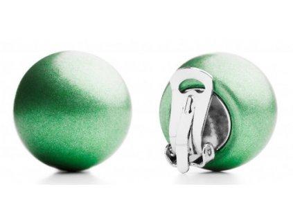 Ballsmania Zelené metalické klipsy VERDE MENTA