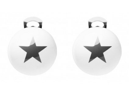 O154S #BallsMania by MirtaBijoux Stars Nero 19 0303
