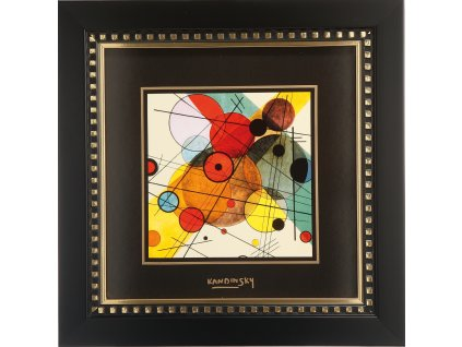 Goebel Kandinsky Obraz Kružnice v kruhu