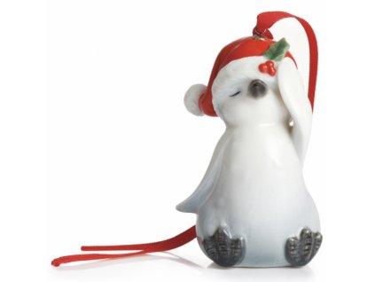 Franz Holiday Greetings Ozdoba Tučňák