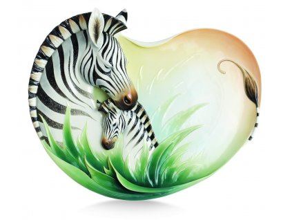 Franz Designer Gallery Collection Zebra Podnos